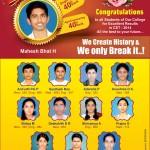 Congratulations to CET Rank Holders
